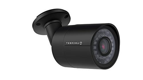 Amcrest HD 1920TVL Bullet Camera 2MP 98ft Housing, Lens, Viewing Black