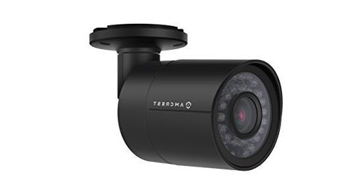 Amcrest 1920TVL Camera 2MP 1920x1080, 98ft Vision, Metal Housing, Viewing Black