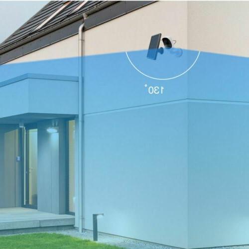 Wireless Security Rechargeable Solar Waterproof