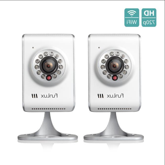 2 pack 720p ip network indoor wireless