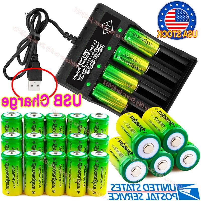 20PCS Rechargeable Batteries 3.7V Arlo Security