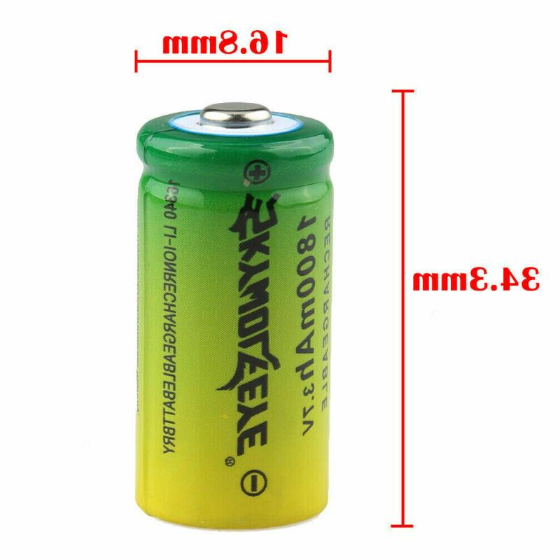 20PCS 16340 Rechargeable Batteries 3.7V