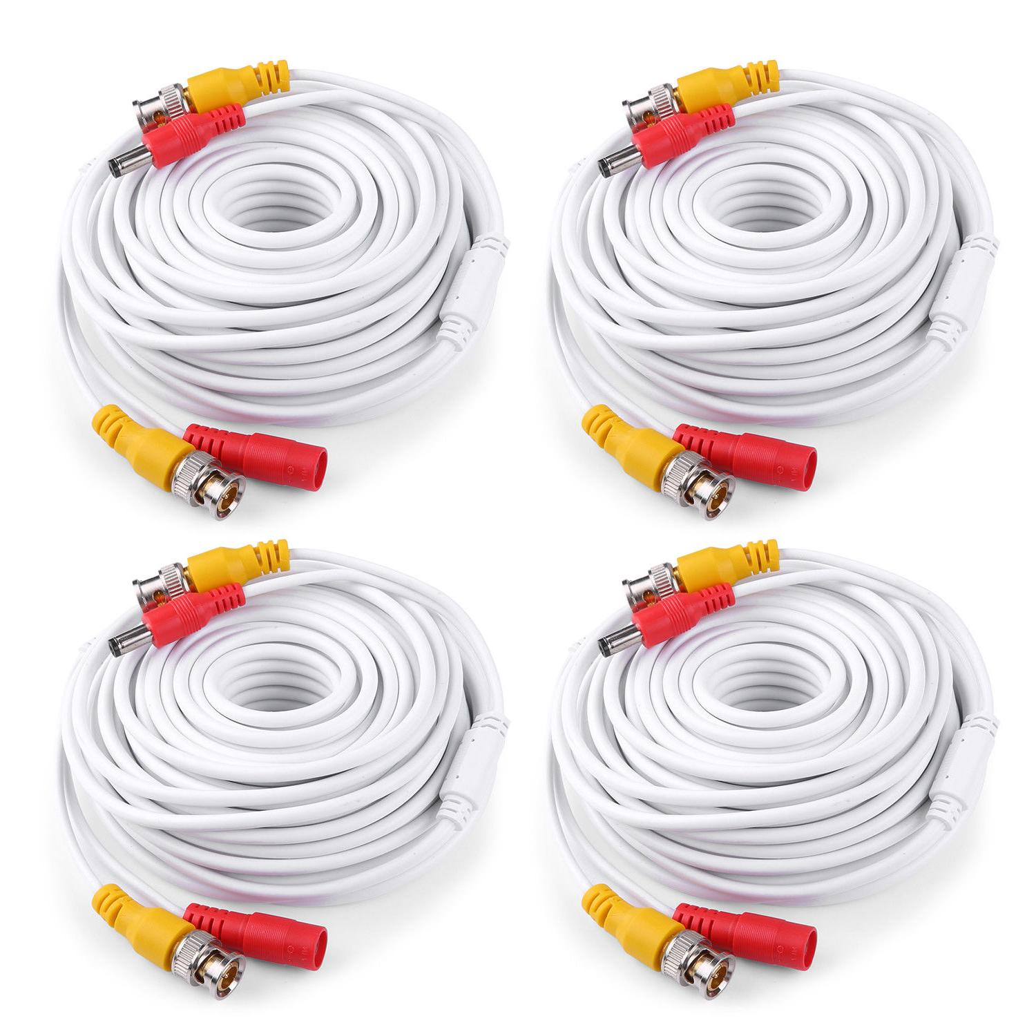 ANNKE 25/50/60/100/150ft Power RCA for Security Camera System