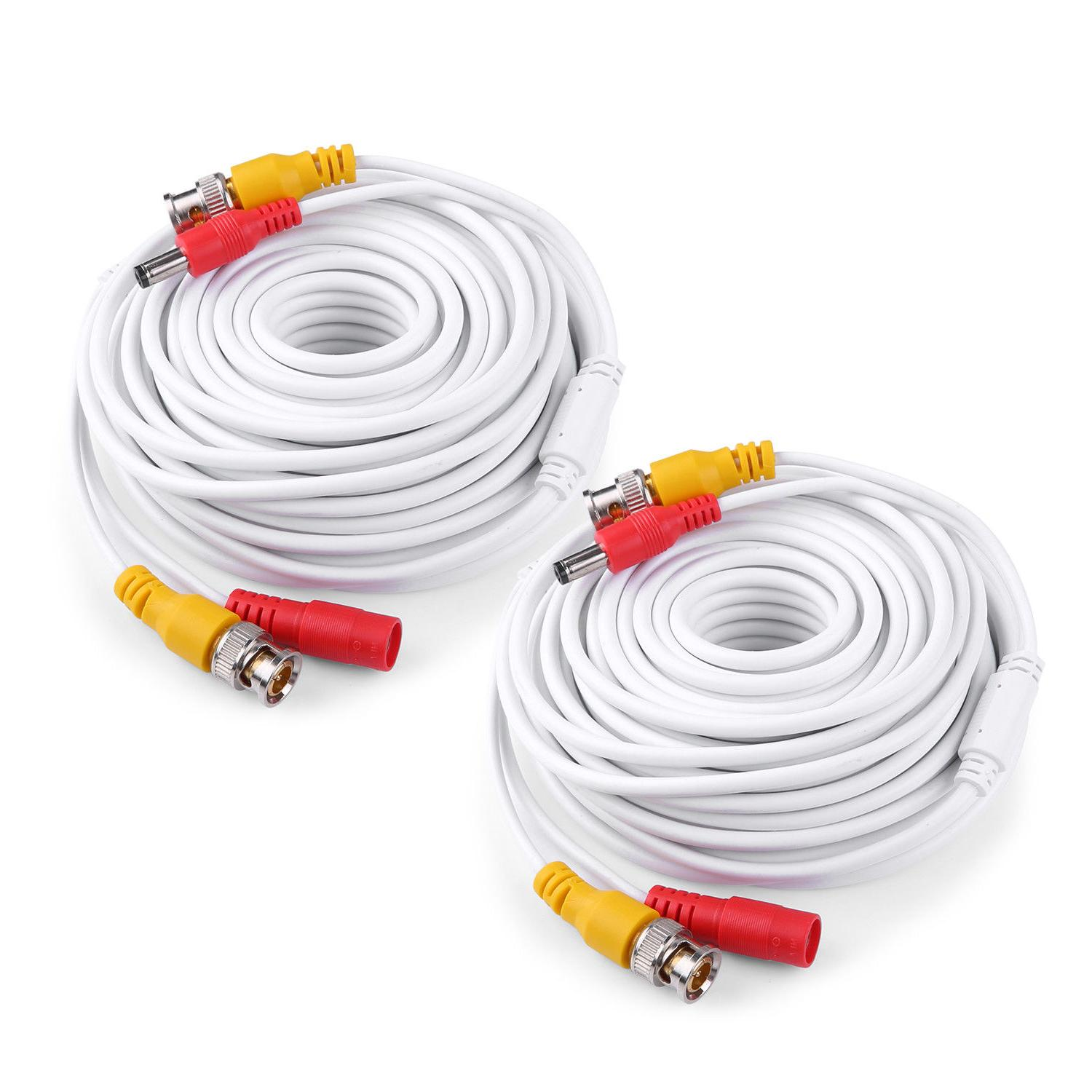 ANNKE 25/50/60/100/150ft HD Power Cable for Security Camera