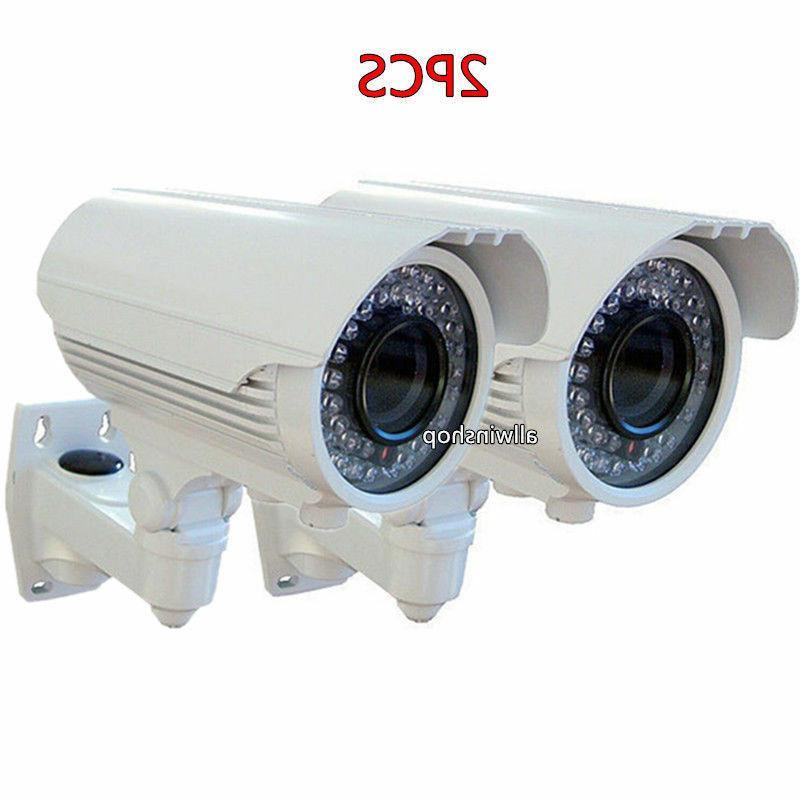 "2X 1/3"" Sony Sensor 1200TVL HD Outdoor Bullet Security CCTV"