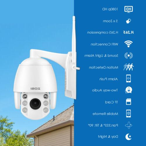 ZOSI IP Outdoor PTZ System Way
