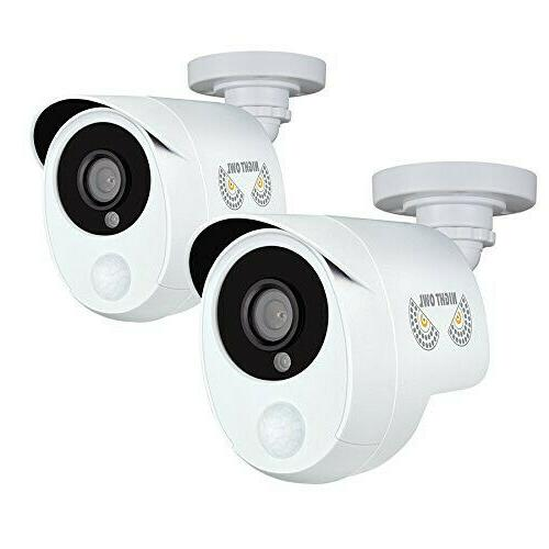 2pk 1080p wired hd analog security cameras