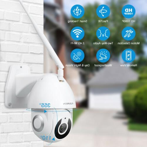 YI IOT Camera 1080P WiFi Outdoor IP Security Camera P/T IR N
