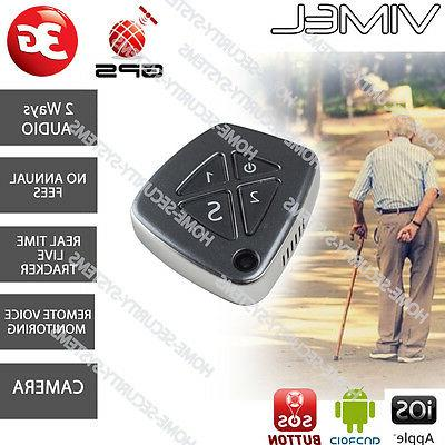 3G GPS Personal Tracker Security Camera  Elderly Kids Real L