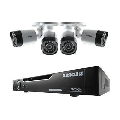 4 ch 500gb hd dvr security surveillance