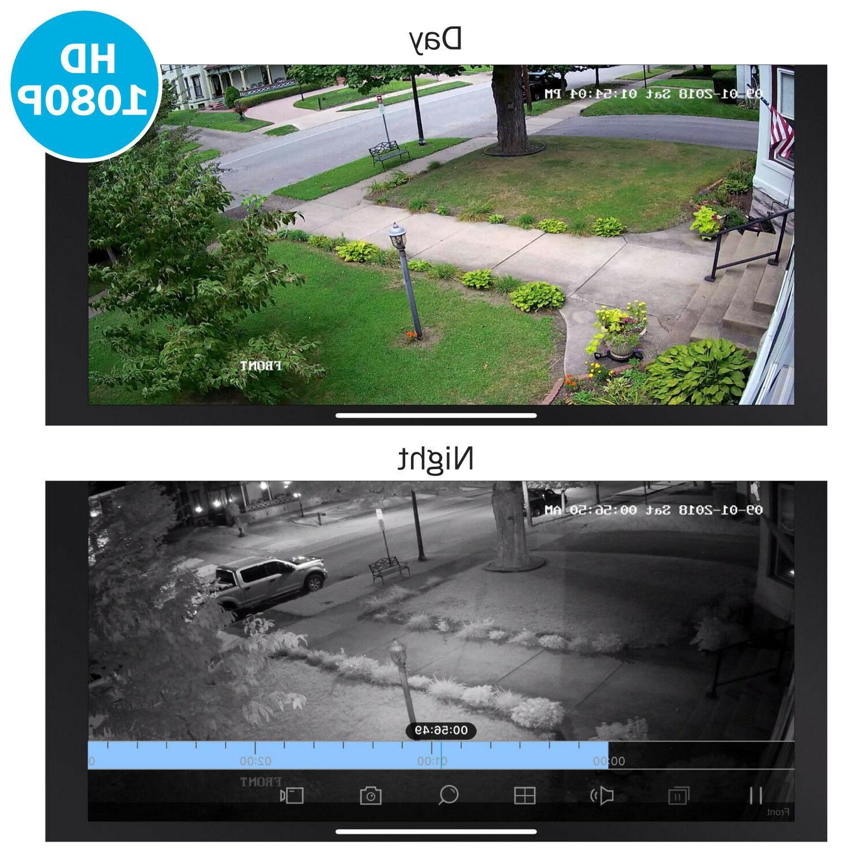 ANNKE 4PCS 2000TVL Camera System