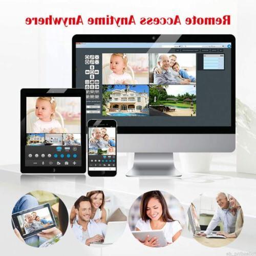 Xtech 1080P NVR indoor WIFI Camera Kit