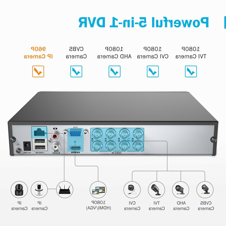 ANNKE 1080P DVR 8x 2MP Outdoor IR