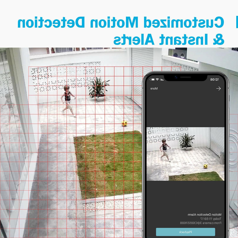 ANNKE 4CH DVR CCTV Camera IR Motion