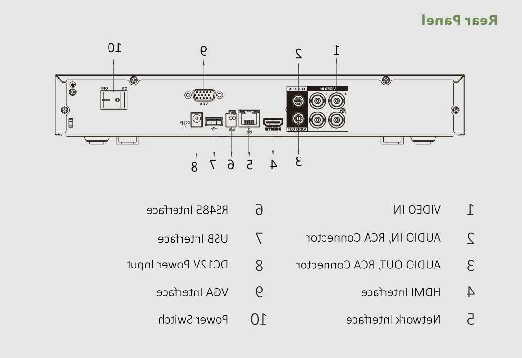 4CH 1080P Digital Recorder 1080P DVR system