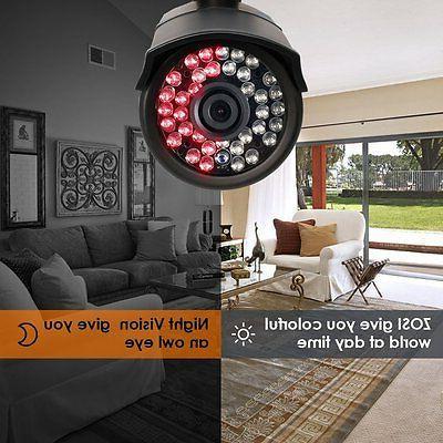 ZOSI 8CH 1080N DVR CCTV Home Cameras System