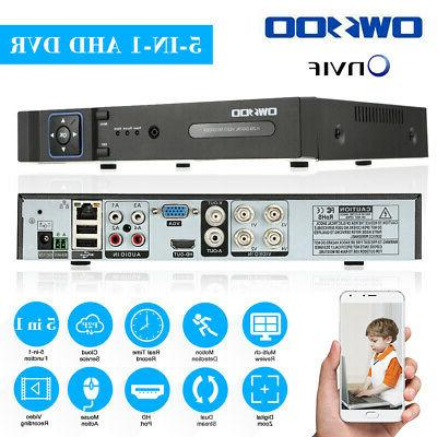 OWSOO Channel DVR 1080P Recorder for System