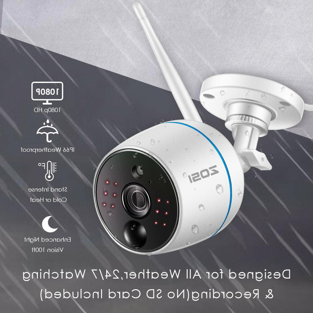 ZOSI NVR 2 Outdoor WiFi Security