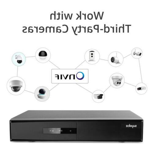 SANNCE H.264+ 5in1 8CH Video CCTV Security Camera System