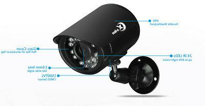 XVIM CCTV Security Camera System DVR