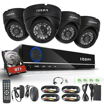 4ch security camera system full 960h dvr