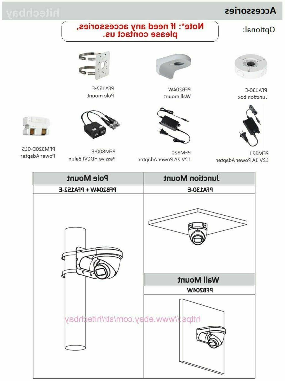 Dahua 4K 8MP HDCVI IR 2.8mm