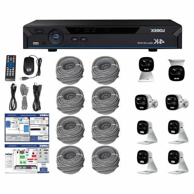 New Lorex 4K Ultra HD IP NVR System with 8 Active Deterrence