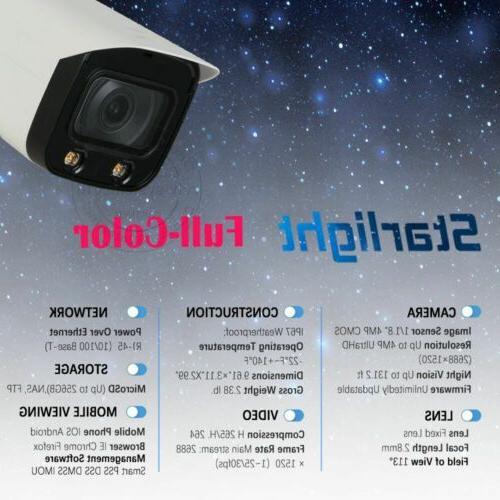 IPC-HFW5442T-AS-LED 2.8mm IP67 Pro AI