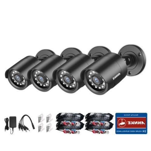 ANNKE 4pcs 3000TVL 1080P CCTV Camera Vision