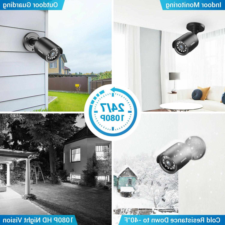 ANNKE 4pcs Full 1080P CCTV Camera Outdoor Vision