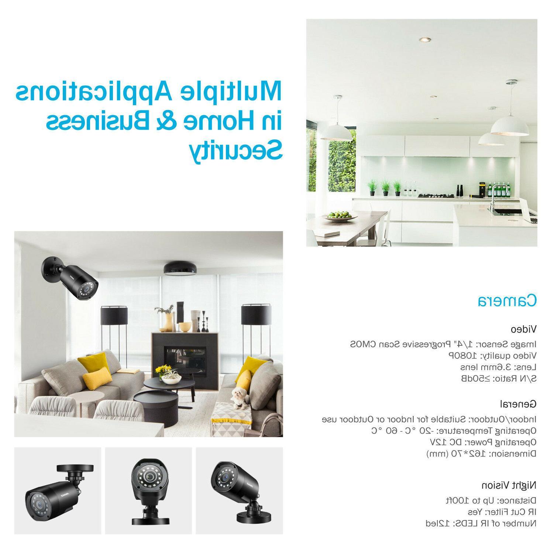 ANNKE 2000TVL TVI Outdoor Camera Security System