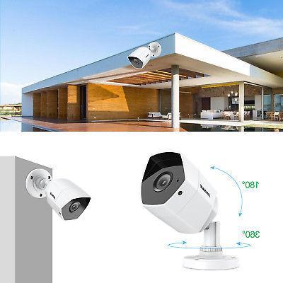 ANNKE 4x CCTV Security IR TVI System