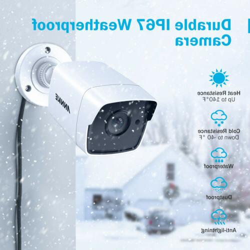 ANNKE 4x 5MP Security Camera Smart IR 3D