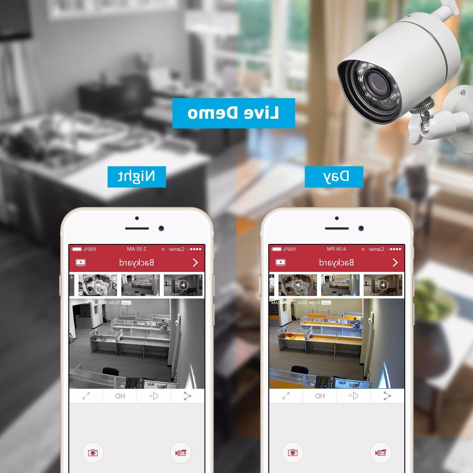 Funlux HD IP Wireless Home Camera System