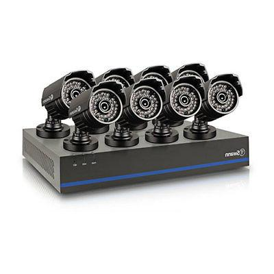 Swann 8-Channel 1080p DVR Security System with 8x Cameras 2T