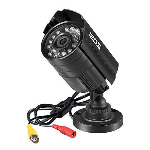 ZOSI 4PK 1280TVL HD 3.6mm IR-LEDs CCTV Camera Home Security Day/Night Camera 960H/ 720P / 1080P DVR Systems