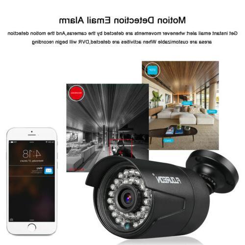Security CCTV Video Surveillance Kit 1TB