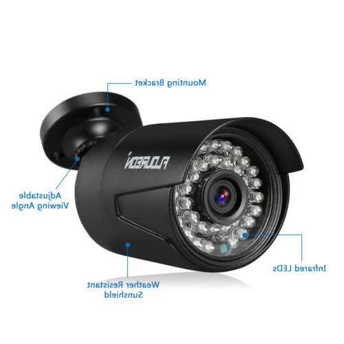 8CH Security Camera System Video