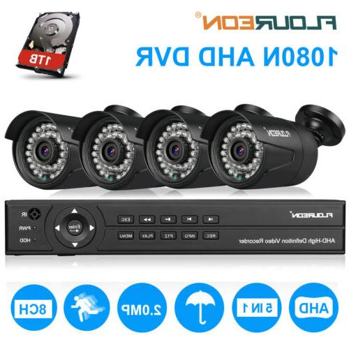 8CH Security Camera Video Kit