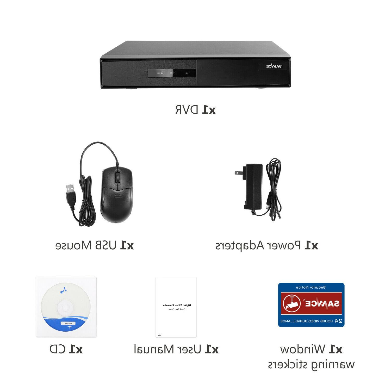 SANNCE 1080P CCTV Video Home NO HDD
