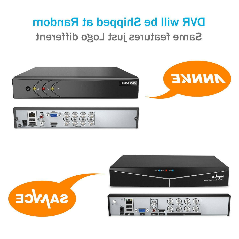 H.264+ DVR 1080P Security Camera IR Night