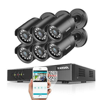 ANNKE DVR 6x Outdoor Home Camera