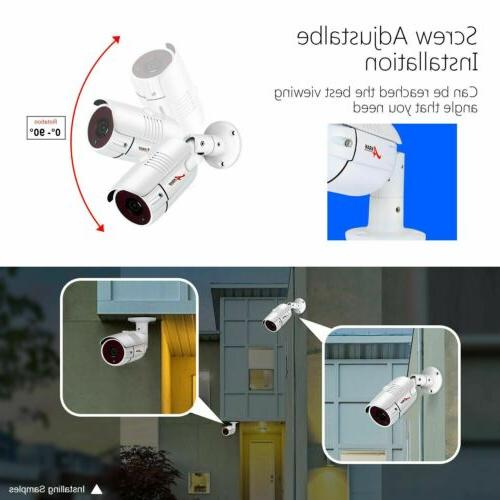 ANRAN 8CH Security Camera System with 1TB 2MP