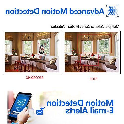ELEC 8CH DVR Video Surveillance iOS Android APP, Motion Detection Email Vision Drive