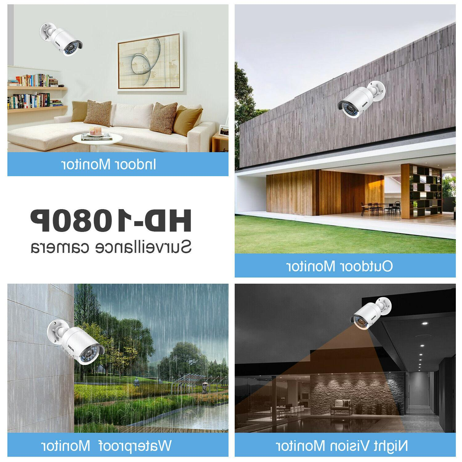 ANNKE NVR HD Outdoor IP Security Camera