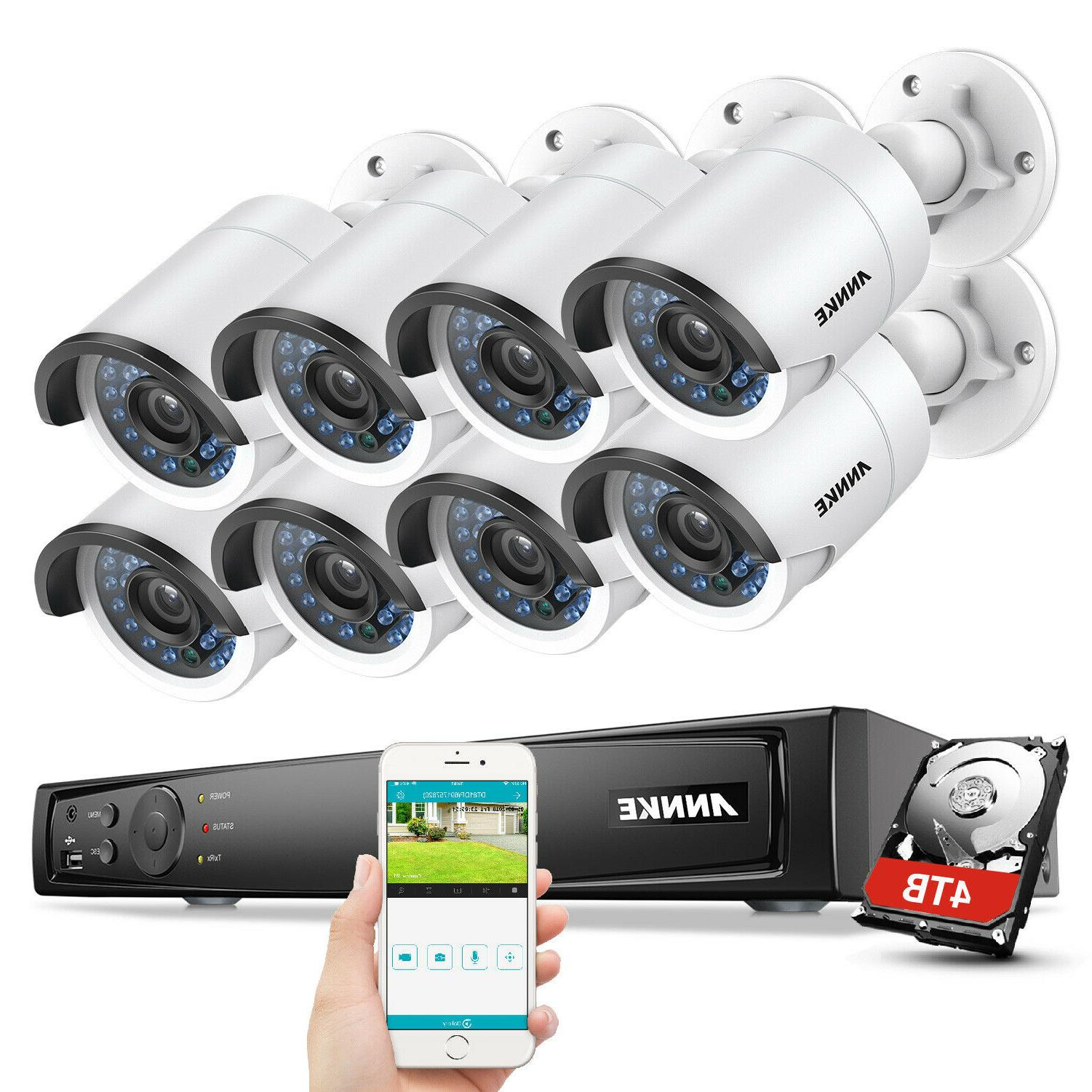 NVR Outdoor Network Security