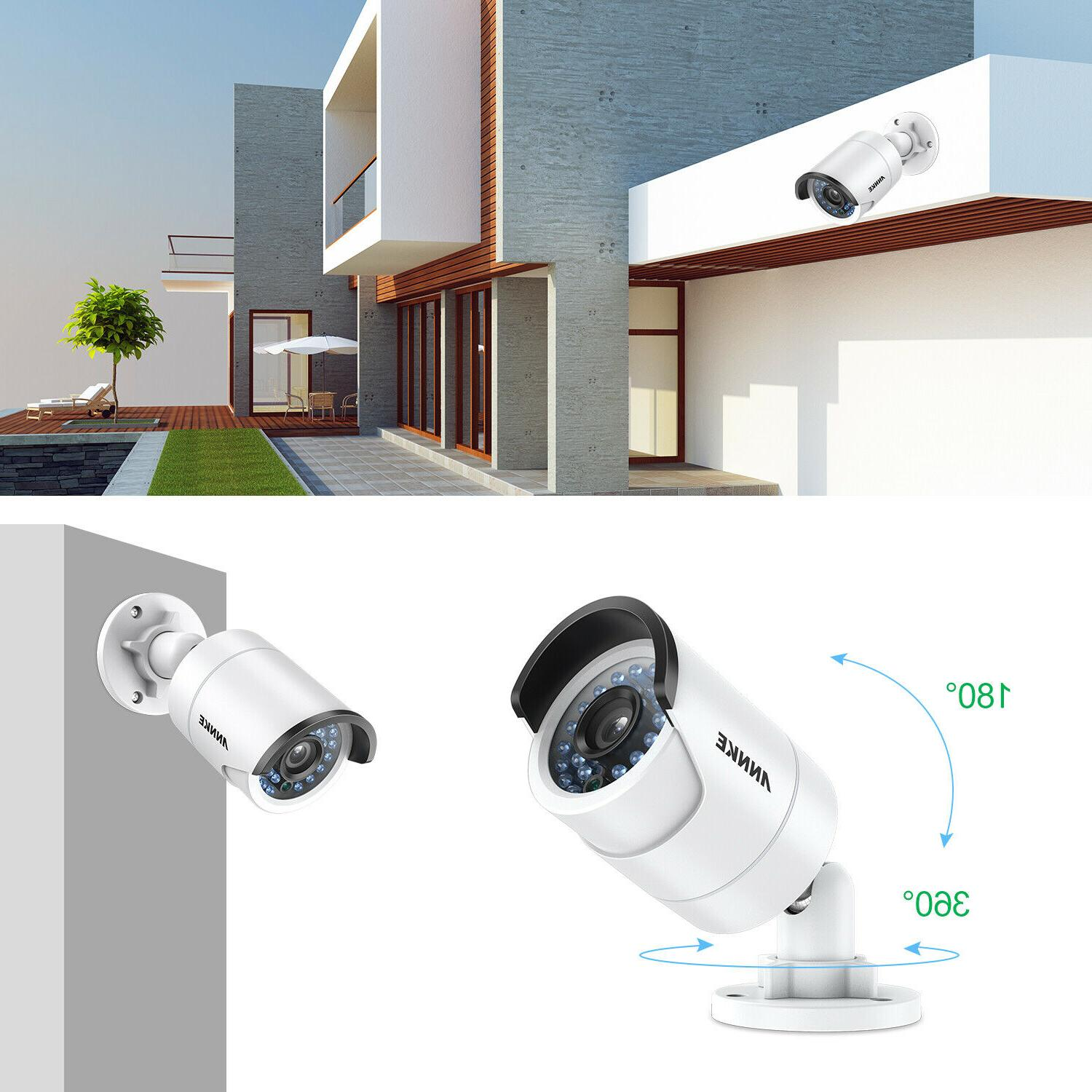 ANNKE 8CH NVR HD Outdoor CCTV Security