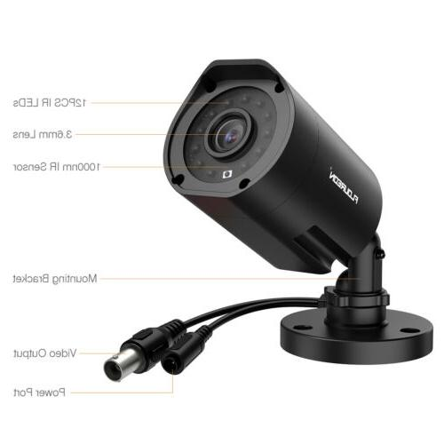 8CH DVR Outdoor Camera CCTV System