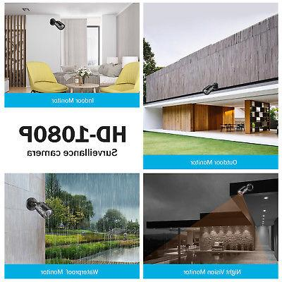 ANNKE 1080P Lite DVR TVI CCTV Cameras System