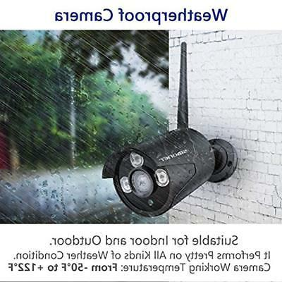 8CH Surveillance Kits Security System Wireless,SMONET Home